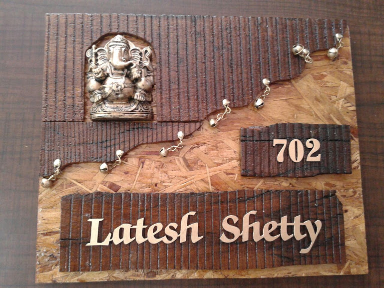 Awesome Creative Door Name Plates In Mumbai. Indian Name Plate Designs For Home